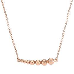 Schön NORDAHL ANDERSEN Halskette mit Anhänger in rosa beschichtetem Silber