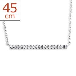 Halskette aus Silber und Anhänger aus Silber