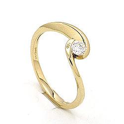 Schön Ring aus 9 Karat Gold
