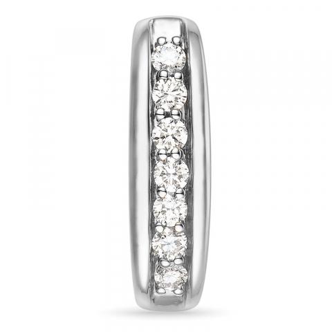 Diamant Anhänger in 14 karat Weißgold 0,22 ct