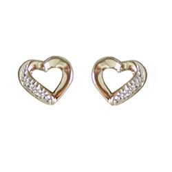 Aagaard Diamantohrringe in 14 Karat Gold mit Diamant