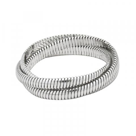 Ringe: drei-in-einem Ring aus Silber