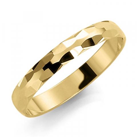 Eng 3 mm trauring aus 14 karat gold