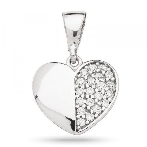 Schönes Herz Anhänger aus Silber