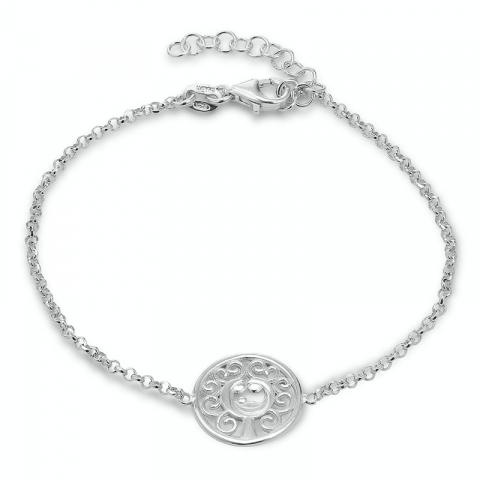 Lebensbaum Armband aus Silber und Anhänger aus Silber