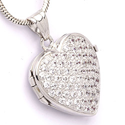 Medaillon aus Silber