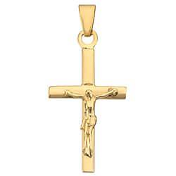 Jesus bnh kreuz aus 8 Karat Gold