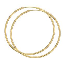 44 mm BNH Kreole in 8 Karat Gold