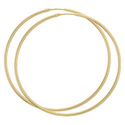 57 mm BNH Kreolenohrringe in 8 Karat Gold