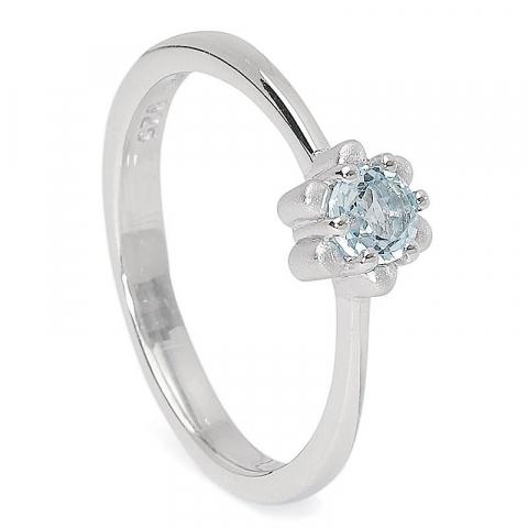 Eng runder Ring aus Silber