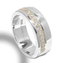 Fein Silberring aus Silber