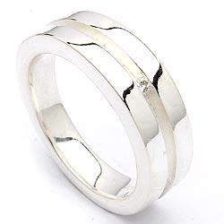 Bezaubernd zirkon silber ring aus rhodiniertem silber